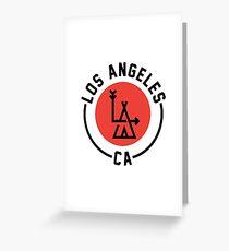LA - Los Angeles Greeting Card
