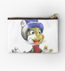 Charcoal and Oil - Jiminy Cricket Studio Pouch