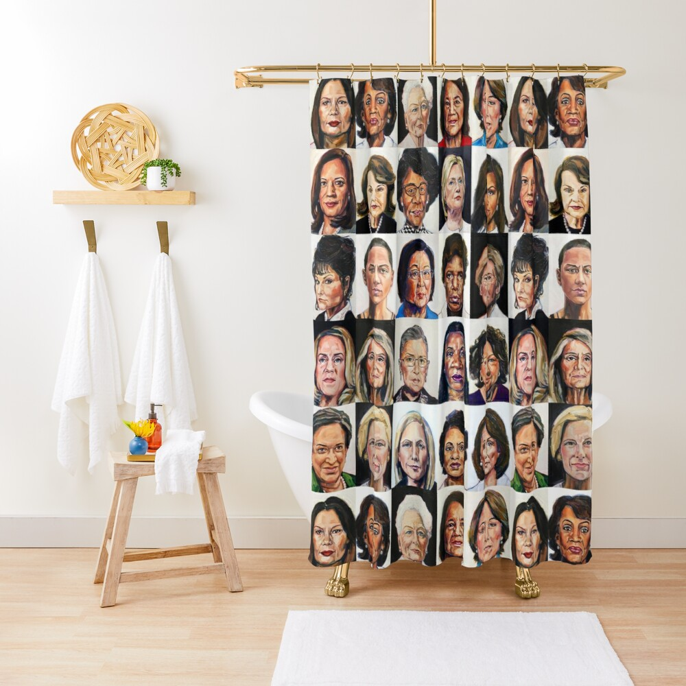 Sheroes 2.0 Shower Curtain