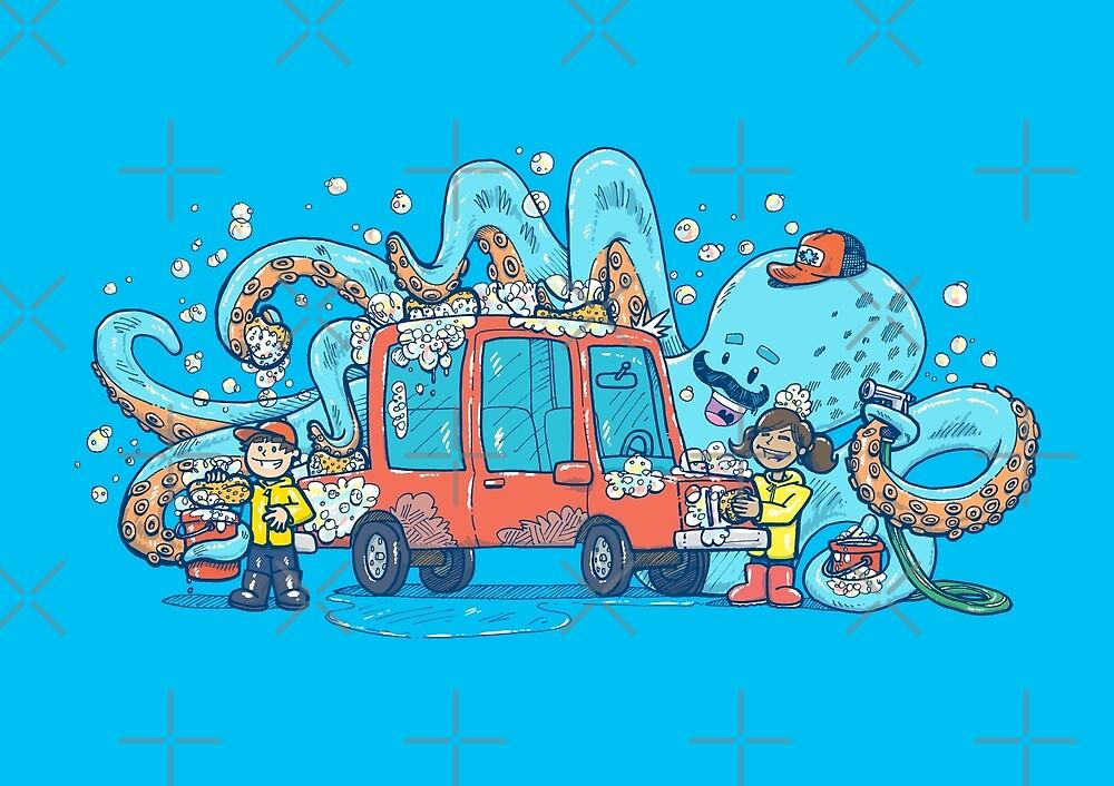 Octopus Carwash by nickv47