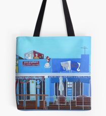 Rod Bending's and Cafe Tsunami Tote Bag