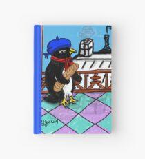 Parisian Penguin Hardcover Journal