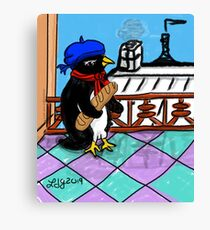 Parisian Penguin Canvas Print