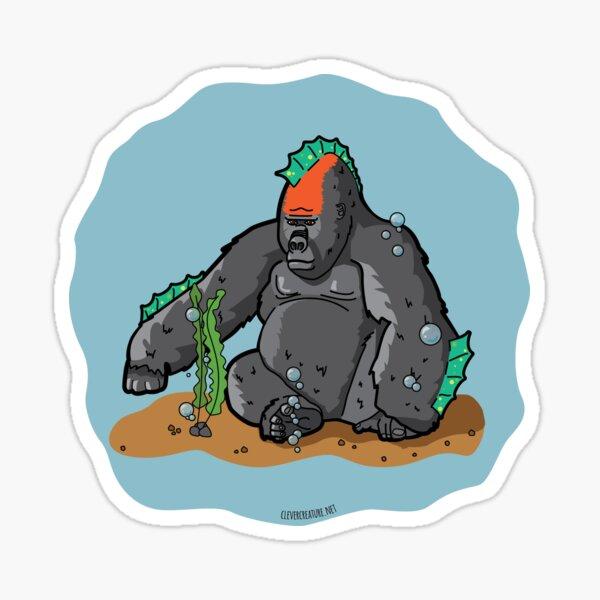 Sea Gorilla Sticker