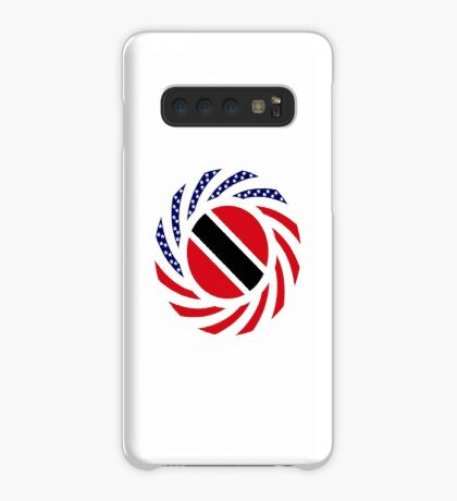 Trinidadian American Multinational Patriot Flag Series Case/Skin for Samsung Galaxy