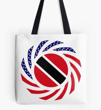 Trinidadian American Multinational Patriot Flag Series Tote Bag