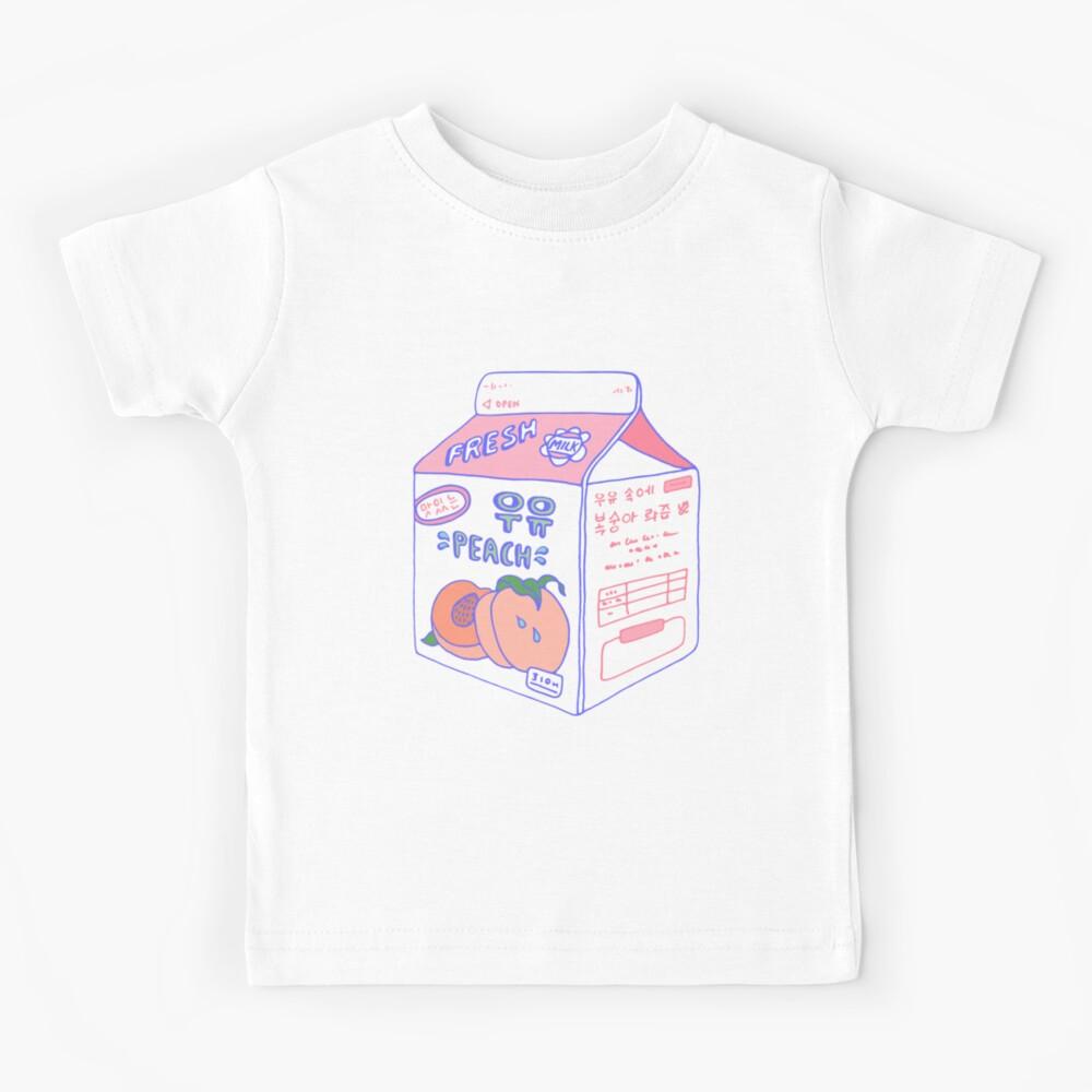 Peach Milk Carton Kids T-Shirt