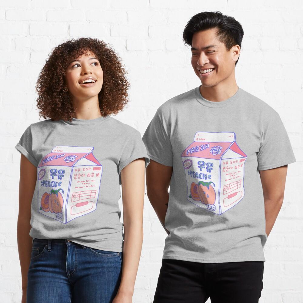 Peach Milk Carton Classic T-Shirt