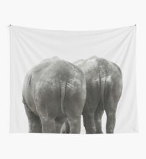 Monochrome - Big buddies Wall Tapestry