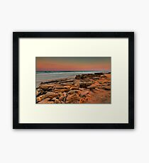 Sunset, Washington Oaks State Park Framed Print