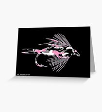 Pink Camo Fly - Greeting Card Greeting Card