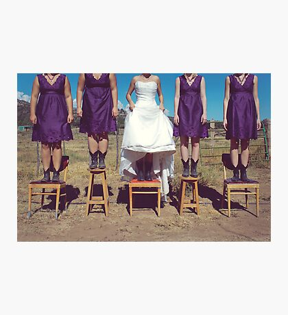 A Country Wedding Photographic Print