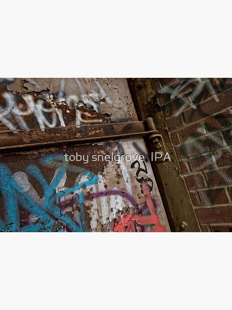 Graffiti at Brick Works by tobysnelgrove