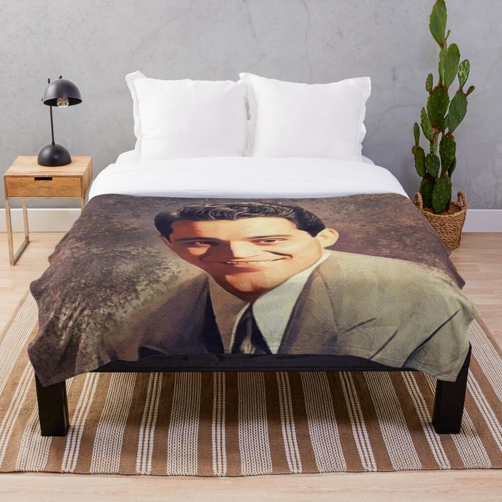 Perry Como, Music Legend Throw Blanket