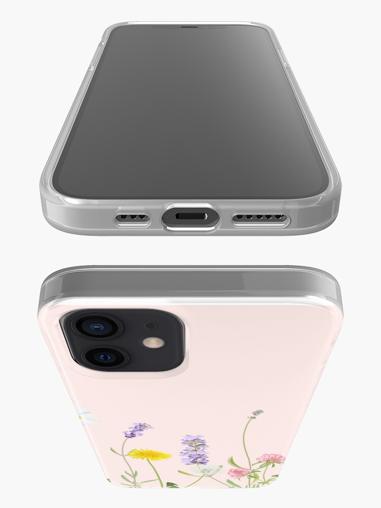 Alternate view of Blush pink - wildflower dreams iPhone Case & Cover