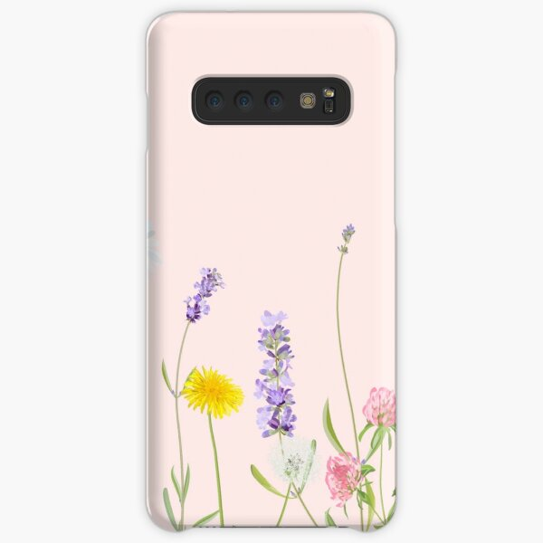 Blush pink - wildflower dreams Samsung Galaxy Snap Case