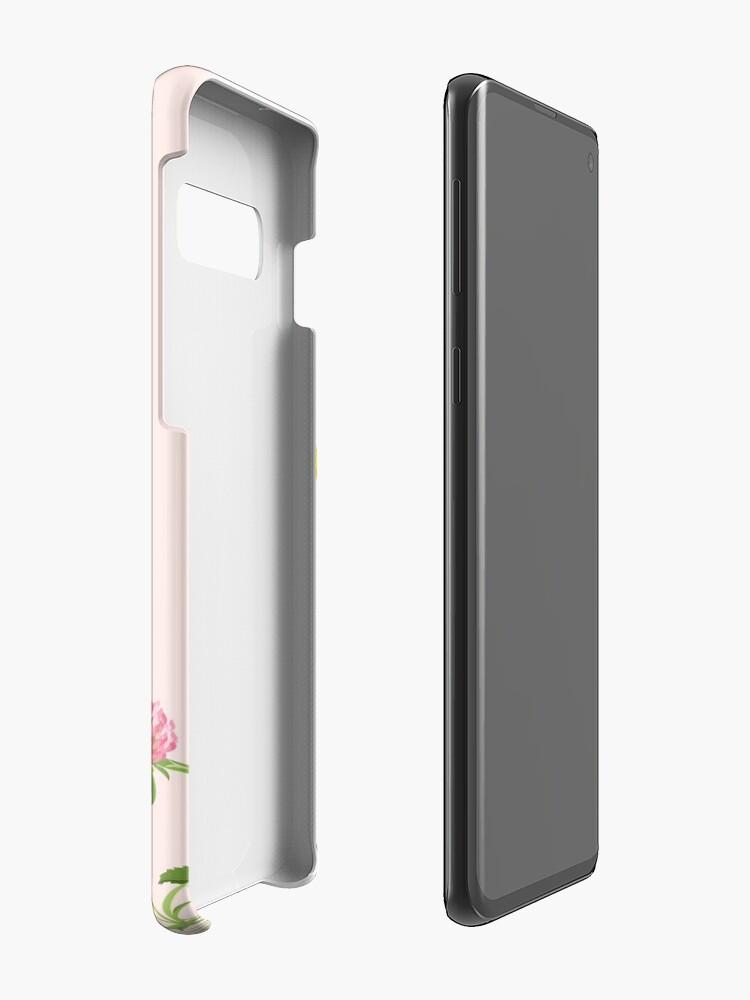 Alternate view of Blush pink - wildflower dreams Case & Skin for Samsung Galaxy