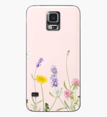 Blush pink - wildflower dreams Case/Skin for Samsung Galaxy
