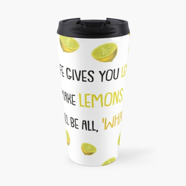 When life gives you lemons.. Quote from Phil's-osophy, Modern Family Travel Mug
