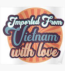 Poster Vietnamesisch Stolz Redbubble