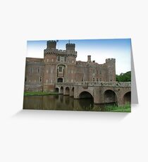 Herstmonceux Castle-England © Greeting Card