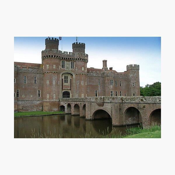 Herstmonceux Castle-England © Photographic Print