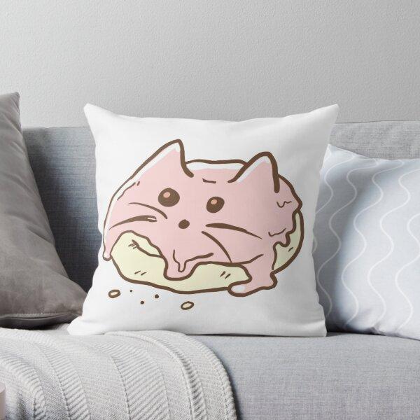 Cat Scone Throw Pillow