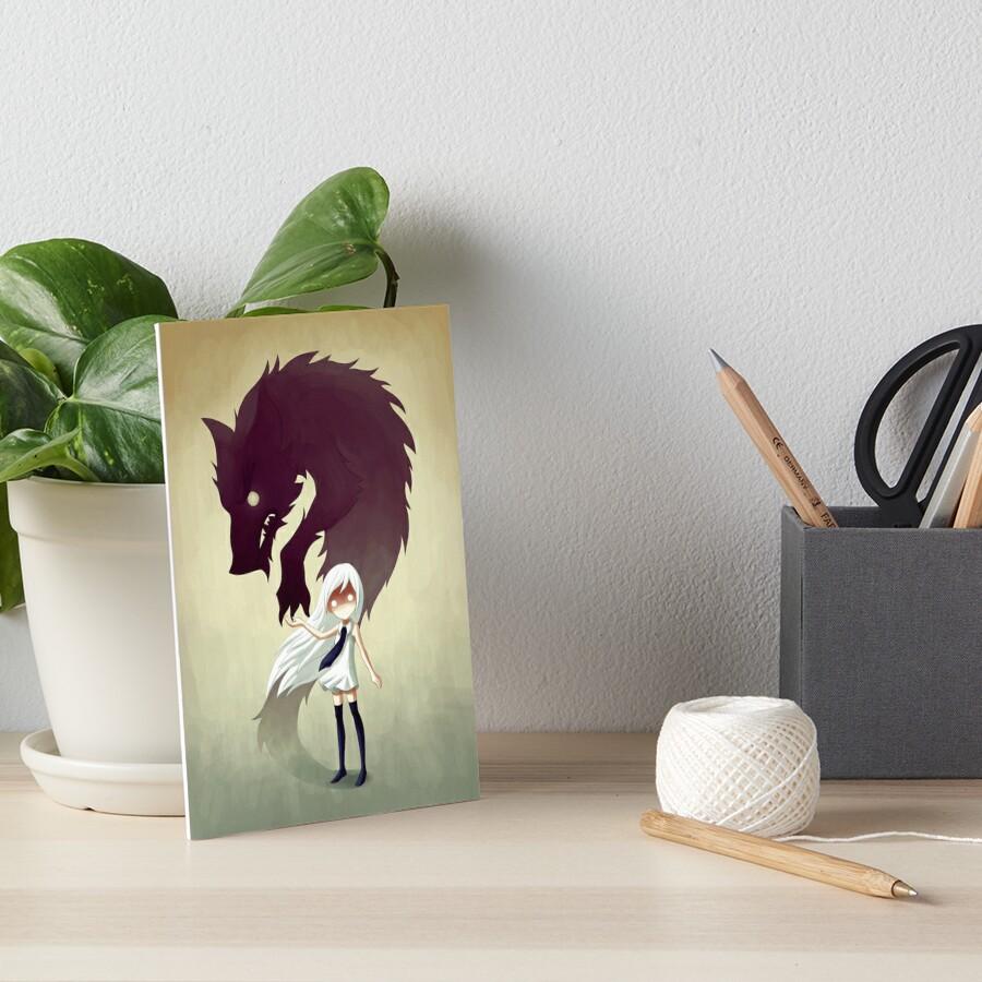 Werewolf Art Board Print