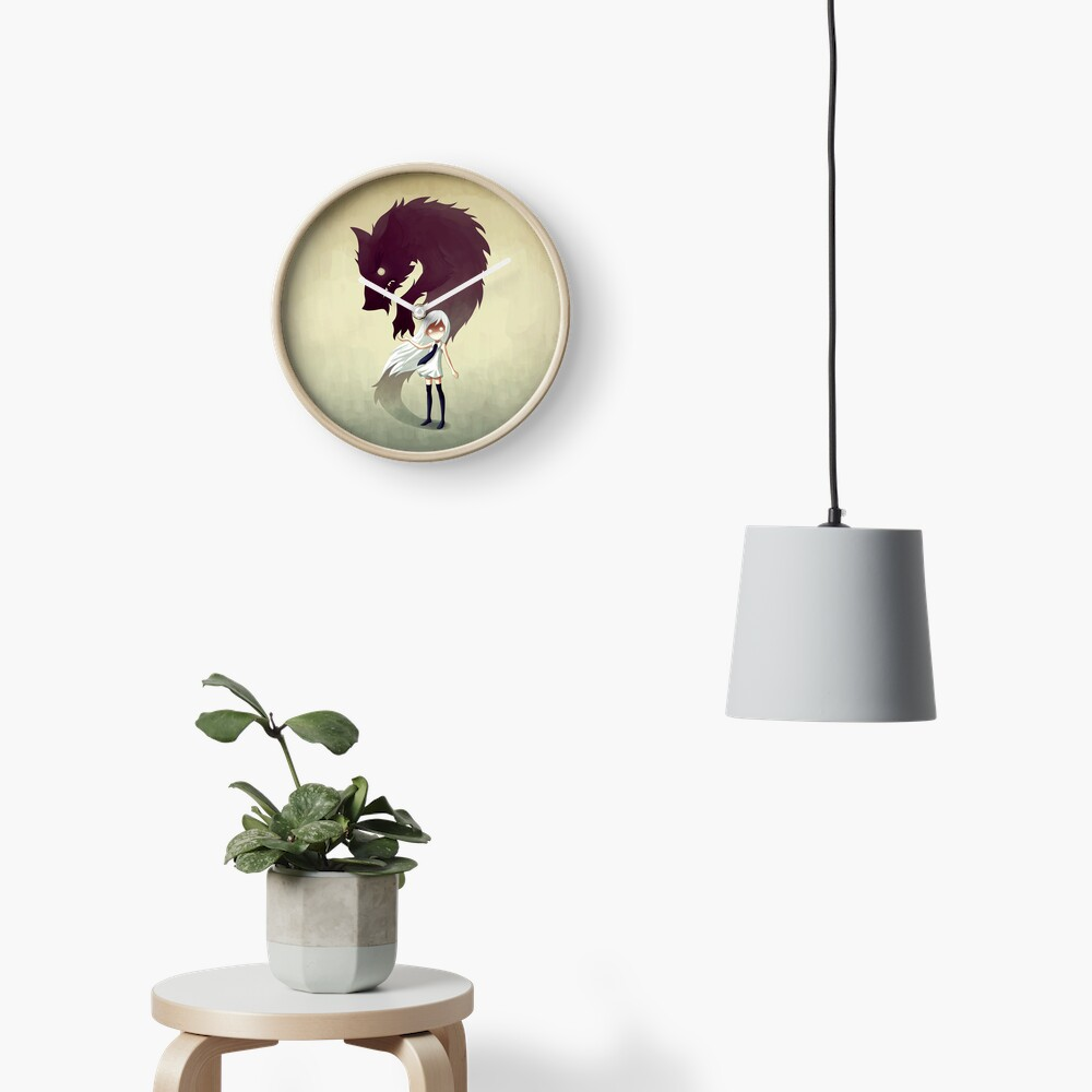 Werewolf Clock