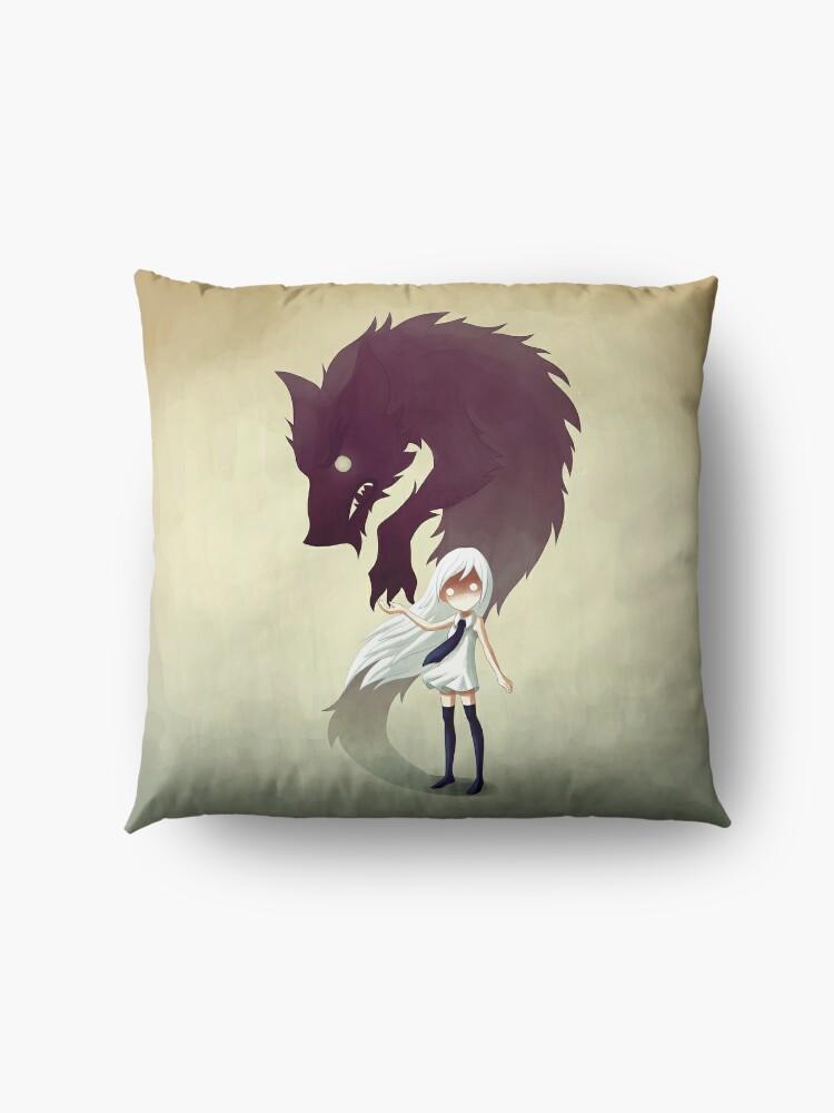 Alternate view of Werewolf Floor Pillow