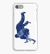 Judo Throw in Gi iPhone Case/Skin