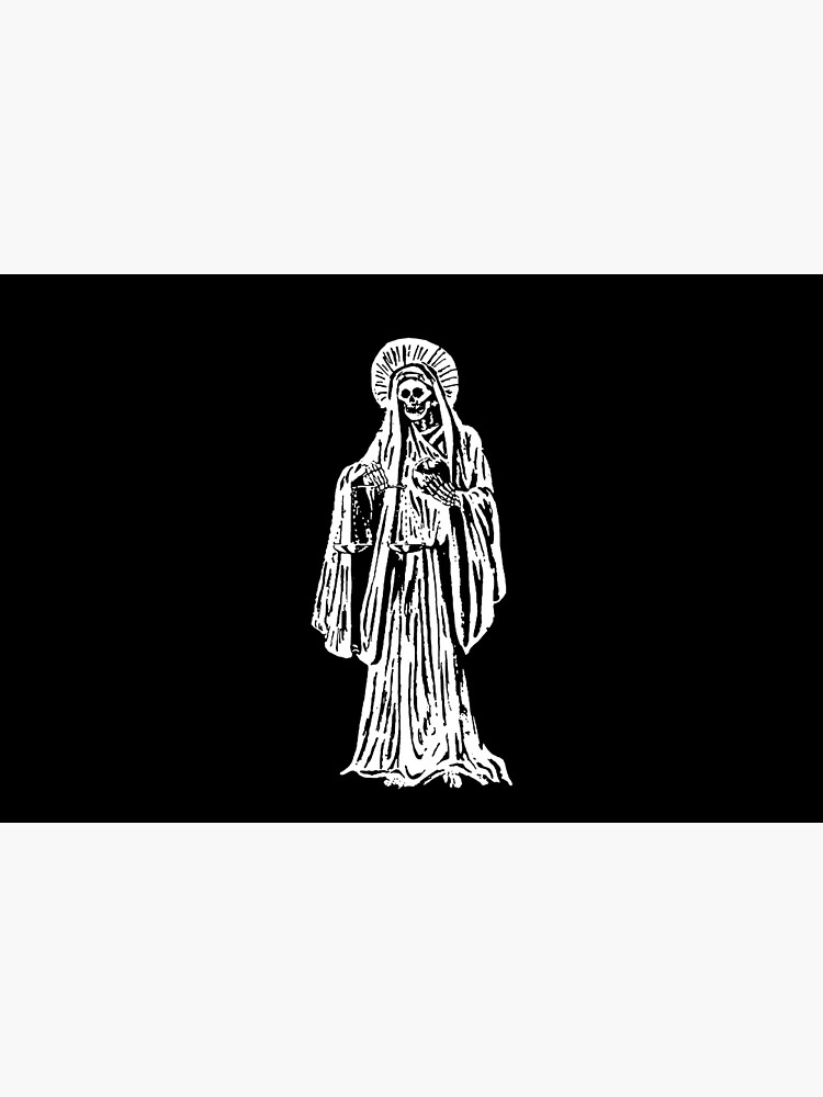 Santa Muerte. Spanish for Our Lady of Holy Death. by TOMSREDBUBBLE