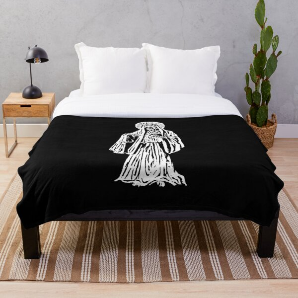Santa Muerte. Spanish for Our Lady of Holy Death. Throw Blanket