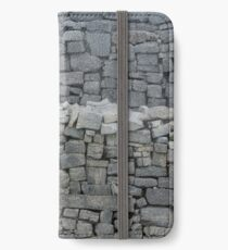 Dry stone wall iPhone Wallet/Case/Skin