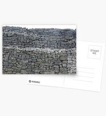 Dry stone wall Postcards