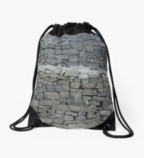 Dry stone wall Drawstring Bag