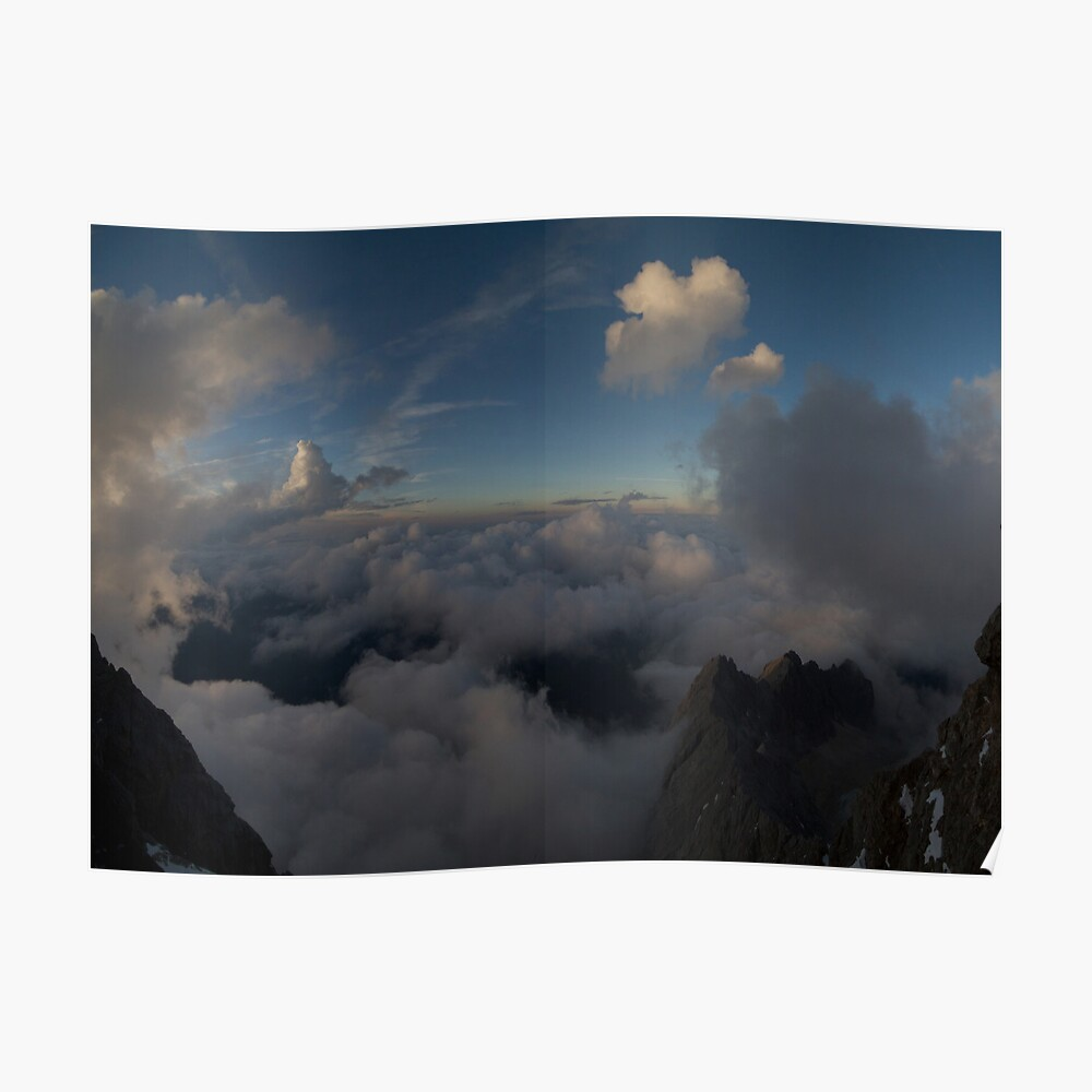 Among the clouds Poster
