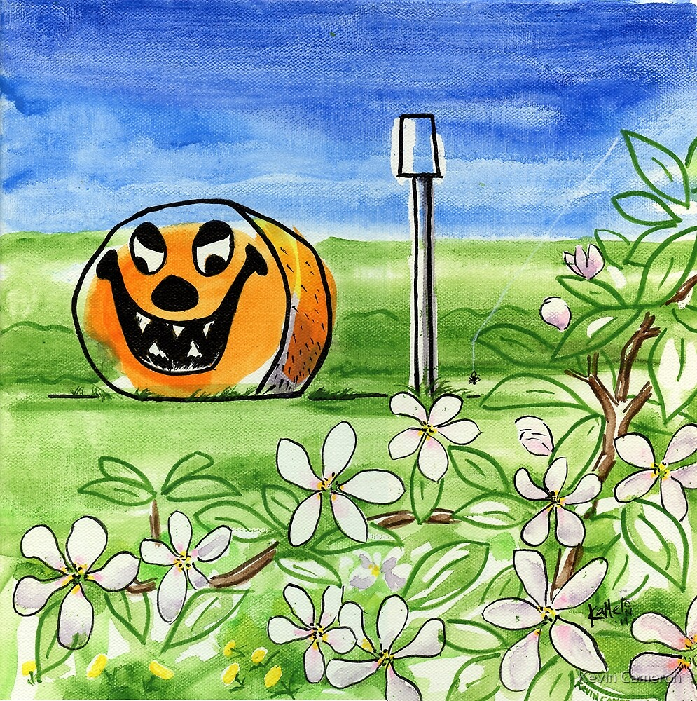 Spring-o-ween by Kevin Cameron
