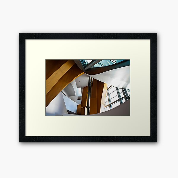 Abstract Number 4 Framed Art Print