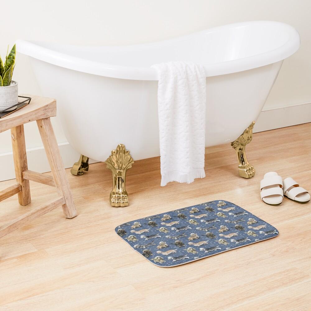 The Dandie Dinmont Terrier Bath Mat