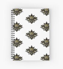 NSL Dino Gold Leaf Spiral Notebook