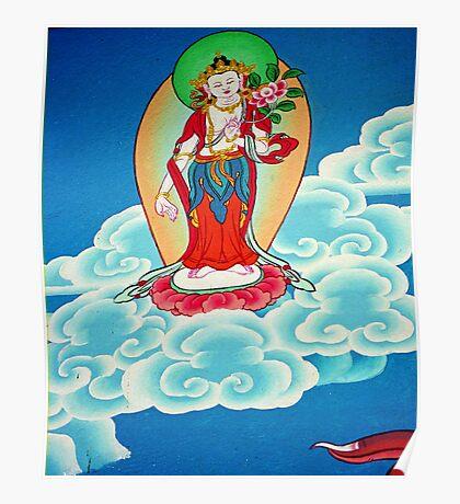 goddess. gangtok - sikkim Poster