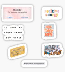 positive vsco sticker pack Sticker