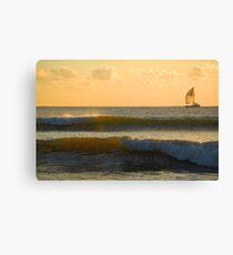 Bribie Island in the Sun (6) Canvas Print