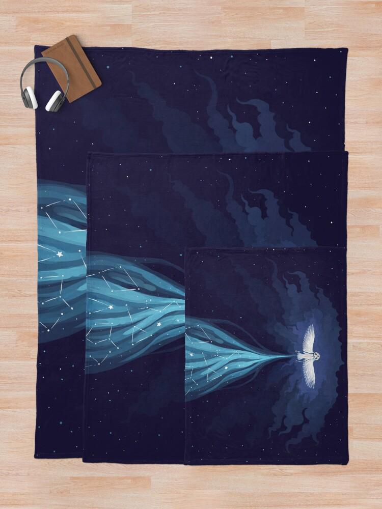 Alternate view of Night Owl 2 Throw Blanket