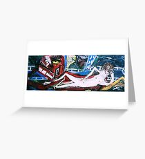 COLD CHILLIN Greeting Card
