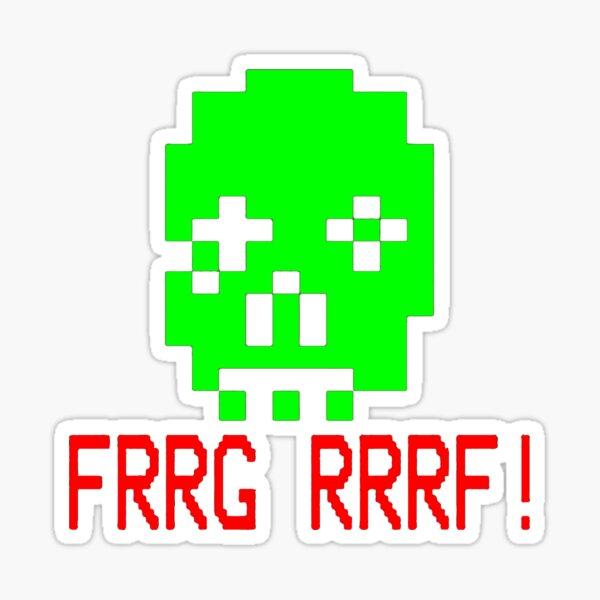 Zombie Dave Sticker