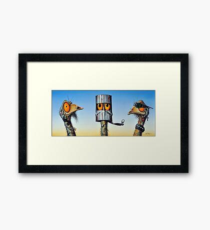 Eddy's Gang Framed Print