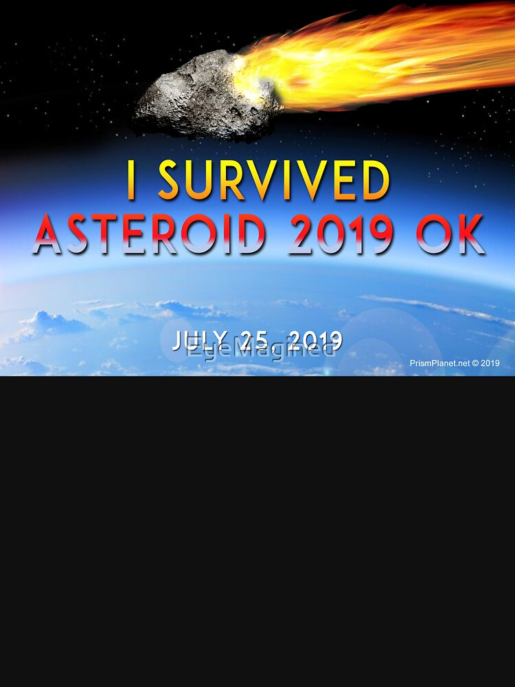 Asteroid 2019 OK by EyeMagined