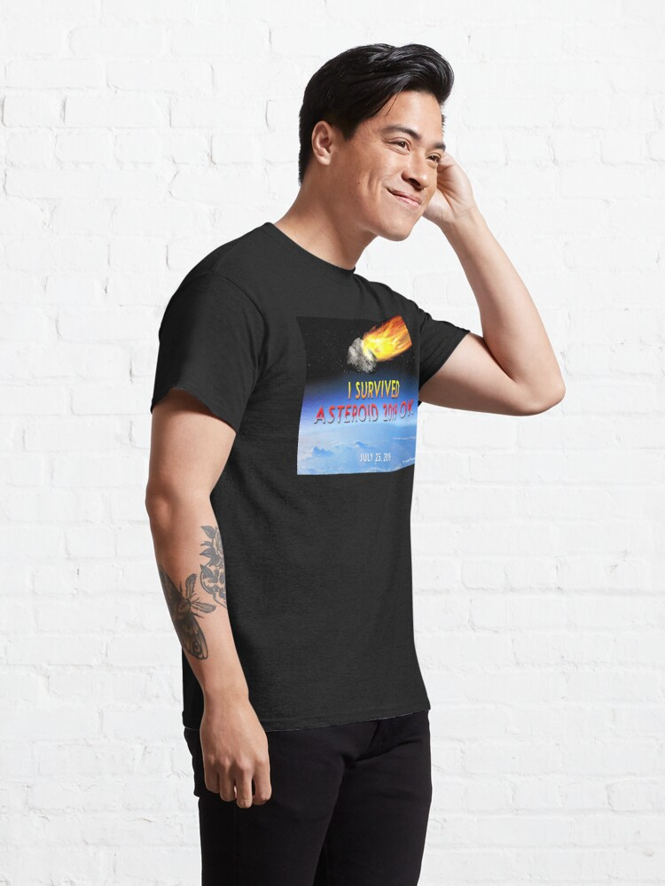 Alternate view of Asteroid 2019 OK Classic T-Shirt